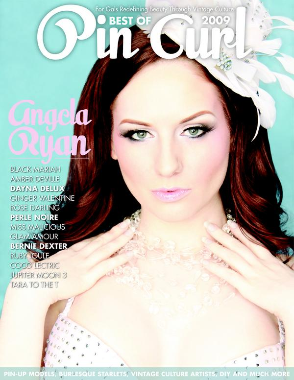 pin curl magazine cover angela ryan best of 2009