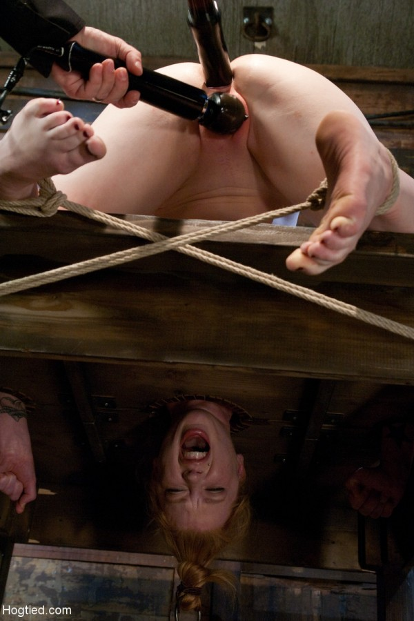 madison young hogtied rope tight tighter