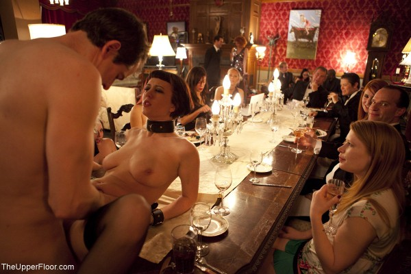 the upper floor bdsm sex dinner