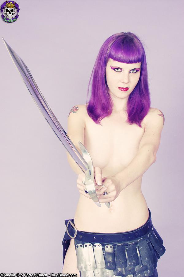 szandora barbarian sword comic con tribute