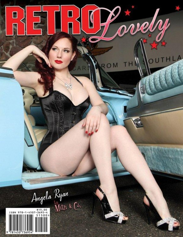 angela ryan retro lovely magazine cover