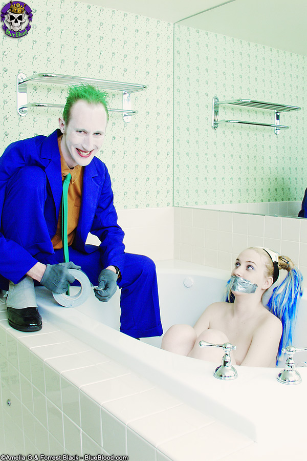 alice and the joker bondage