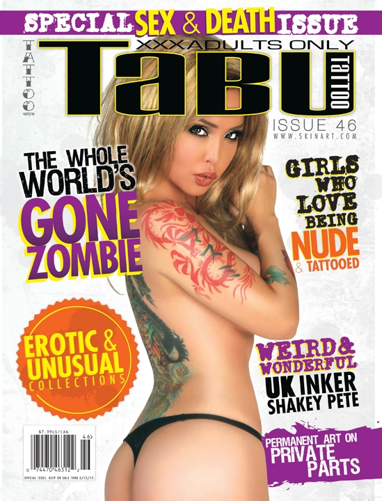 Tabu Tattoo 46 magazine cover masuimi max