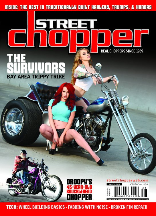 street chopper magazine miss crash reneee