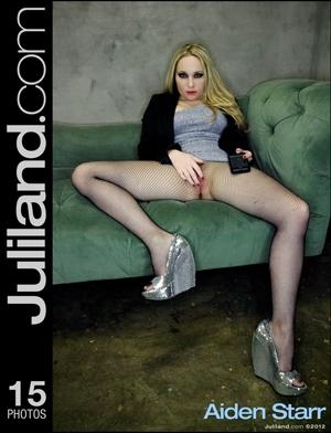 aiden starr juliland silver heels