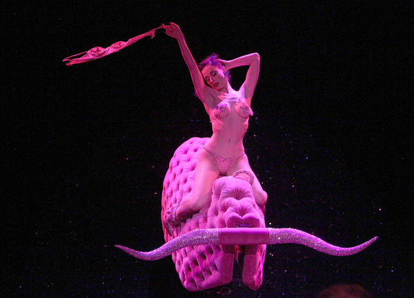 Dita Von Teese in her new tour Burlesque: Strip Strip Hooray!