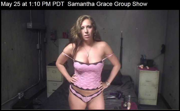 samantha grace cam