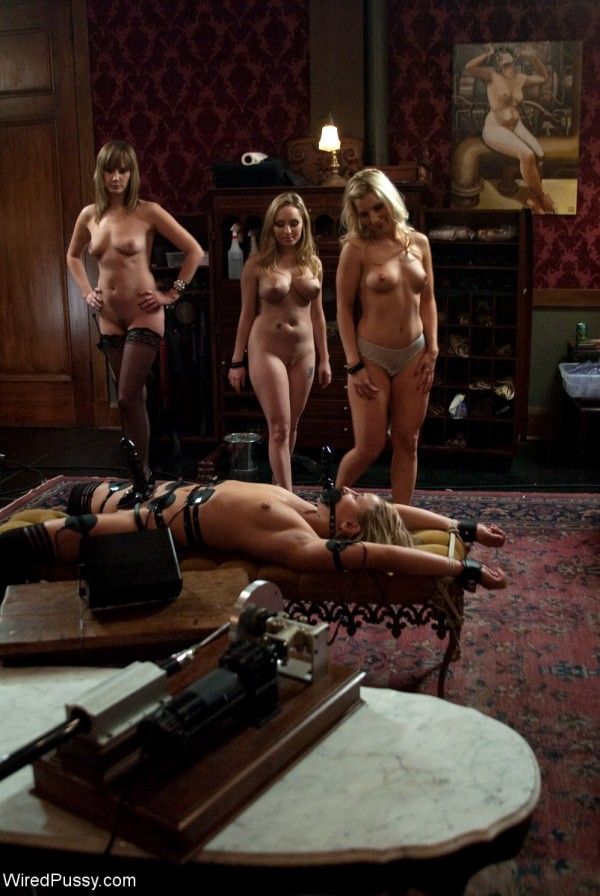Maitresse Madeline, Jessie Cox, and Ashley Fires Maid Humiliation