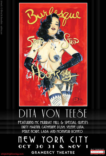 dita von teese strip strip hooray nyc new york
