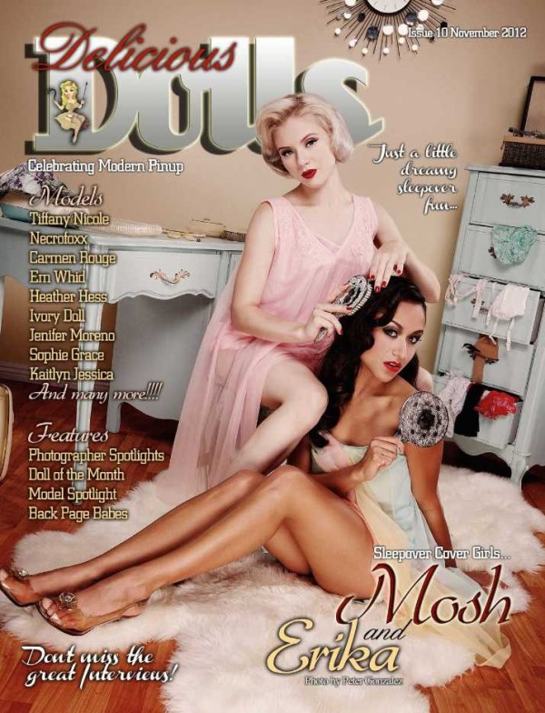 delicious dolls magazine cover mosh erika november 2012