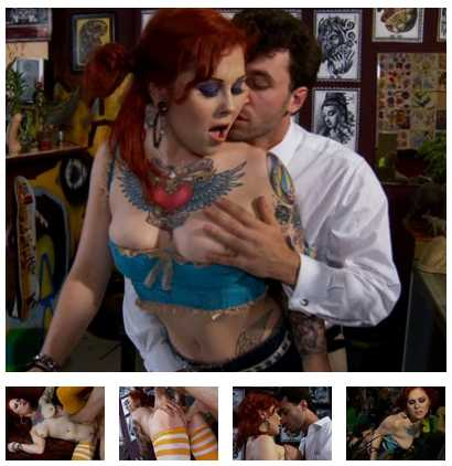 burningangel mistidawn james deen tattoo