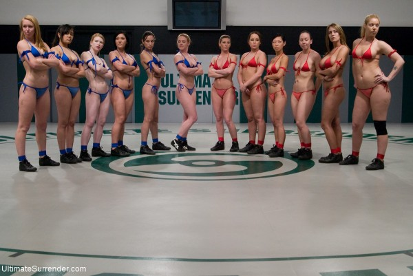 Hollie Stevens , Madison Young , Darling , Annie Cruz , Ariel X , Julie Night , Alexa Von Tess , Amber Rayne , Claire Dames , Trina Michaels , Tia Ling and Ami Emerson