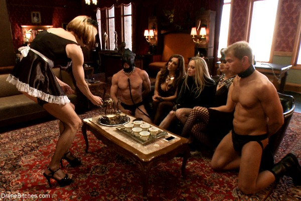Aiden Starr, Jason Miller, Lea Lexis, Maitresse Madeline, Sean Spurt, Francesca Le, and Alex Adams