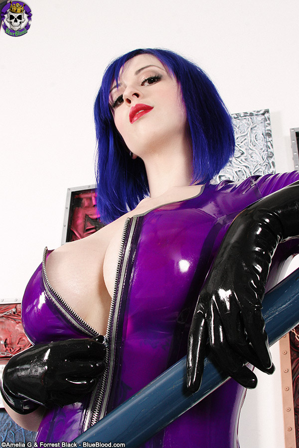 Larkin love purple latex