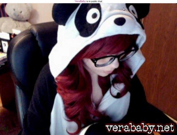 vera baby panda head cam