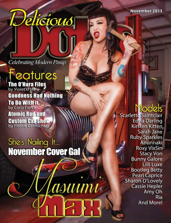 delicious dolls masuimi max magazine cover
