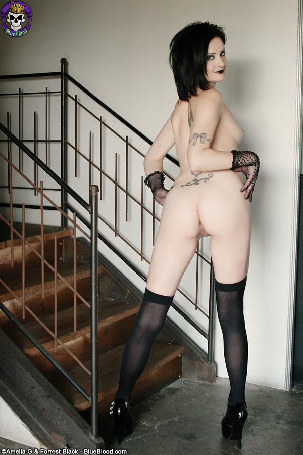 annika amour gothic stairway