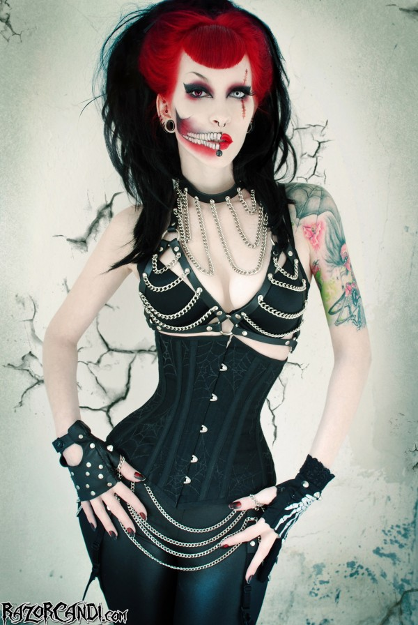 razor candi gore couture web of deceit