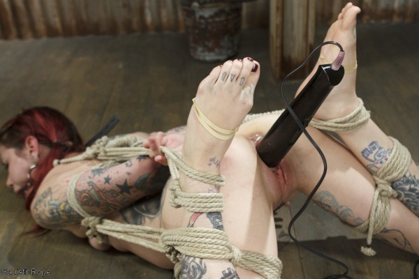 Krysta Kaos on NEW SITE Sadistic Rope