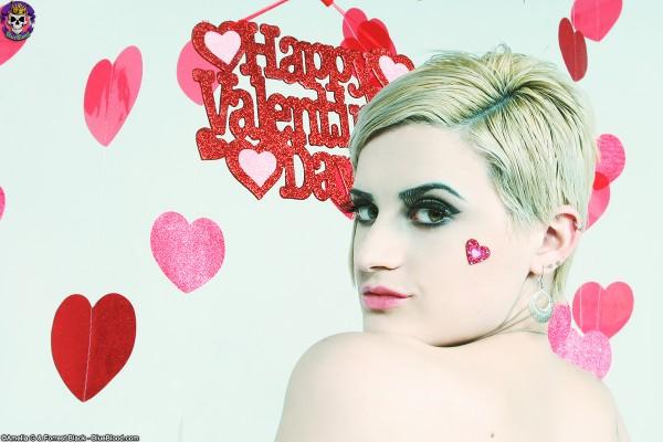annika amour valentines day