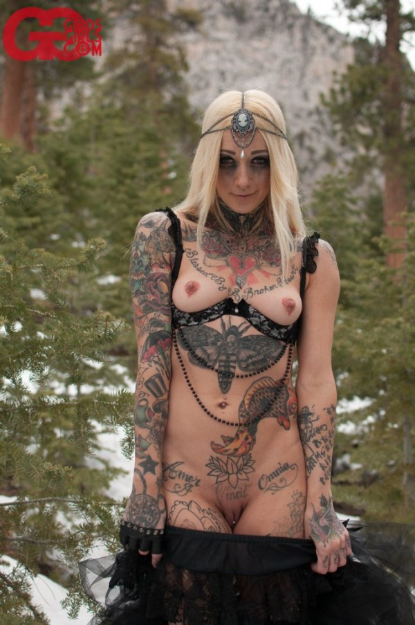 godsgirls angel beau snow nymph