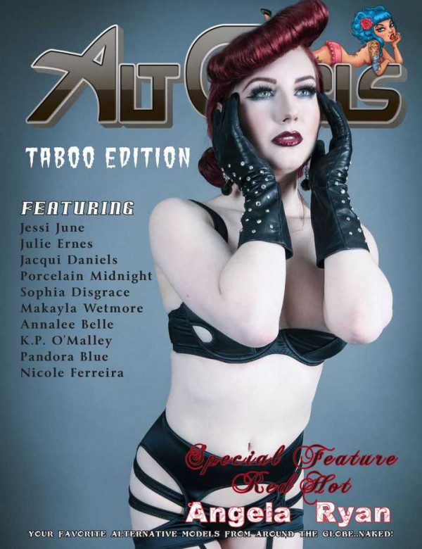 Angela Ryan Alt Girls Magazine Cover