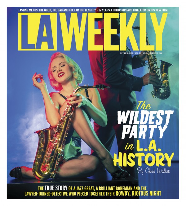 Mosh LA Weekly Cover Newspaper