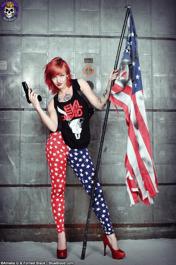 pandora evil dead american flag