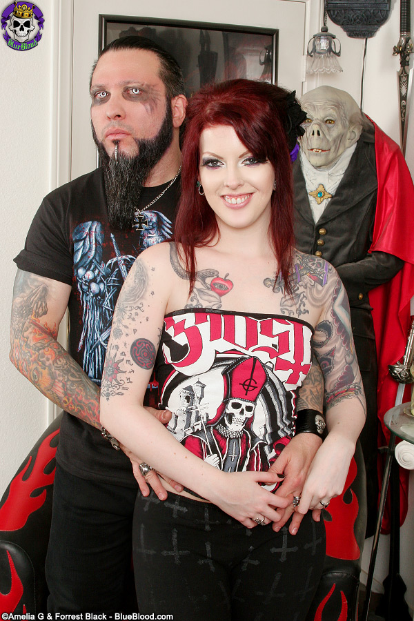 Penny Poison and Mr. Spooky on Blue Blood VIP
