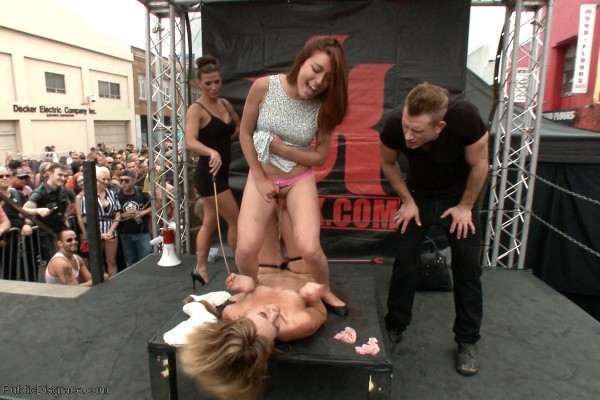 Folsom Street Spectacle! The ultimate humiliation of Mona Wales