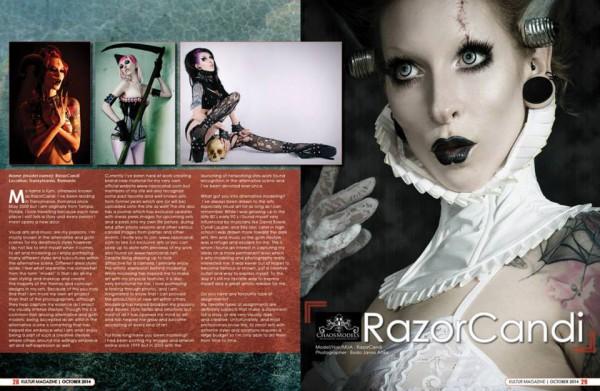 razorcandi kultur magazine