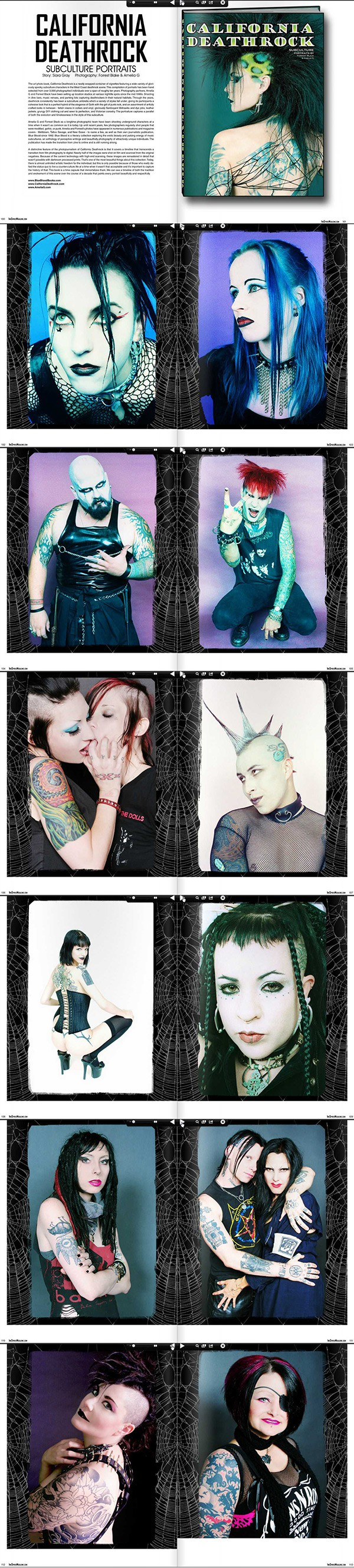inkspired 27 california deathrock siara gray interview