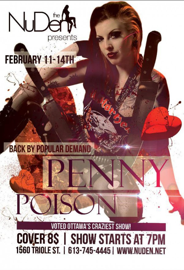 penny poison circus performer