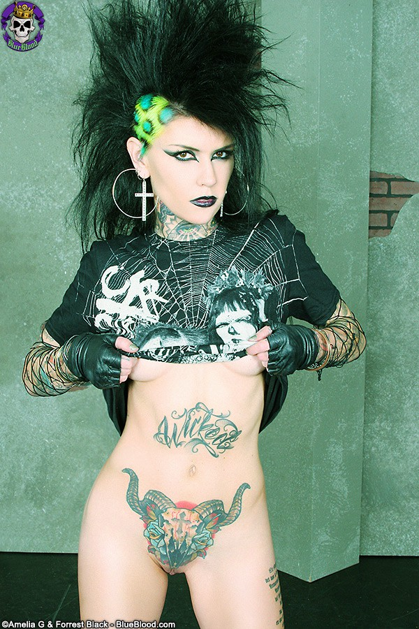 malice CADR deathrock clothing