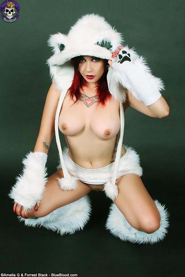 scarlet starr polar bear furry