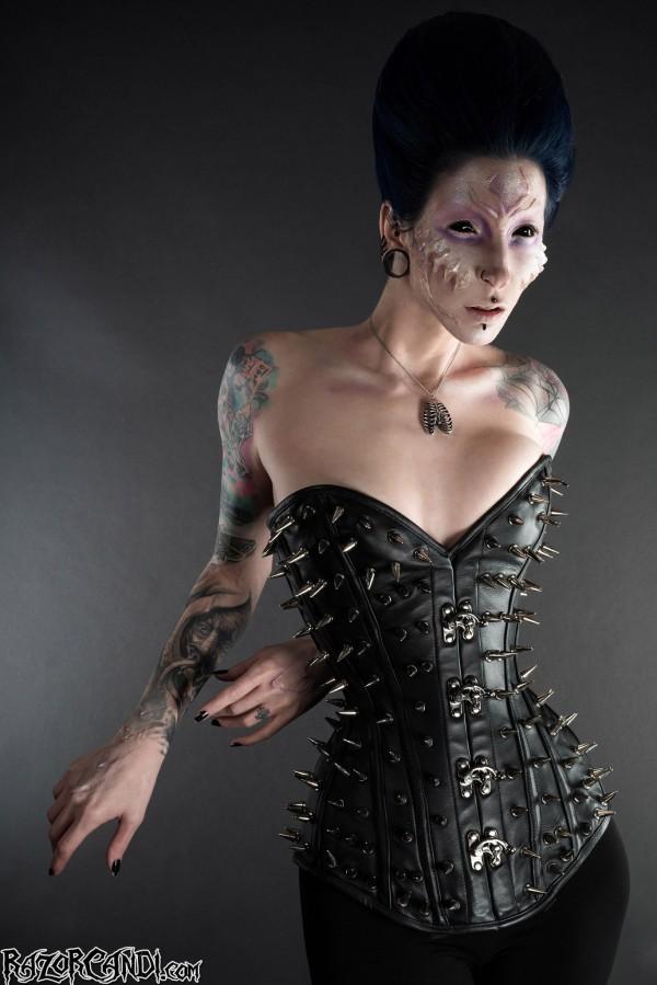 vampire corset