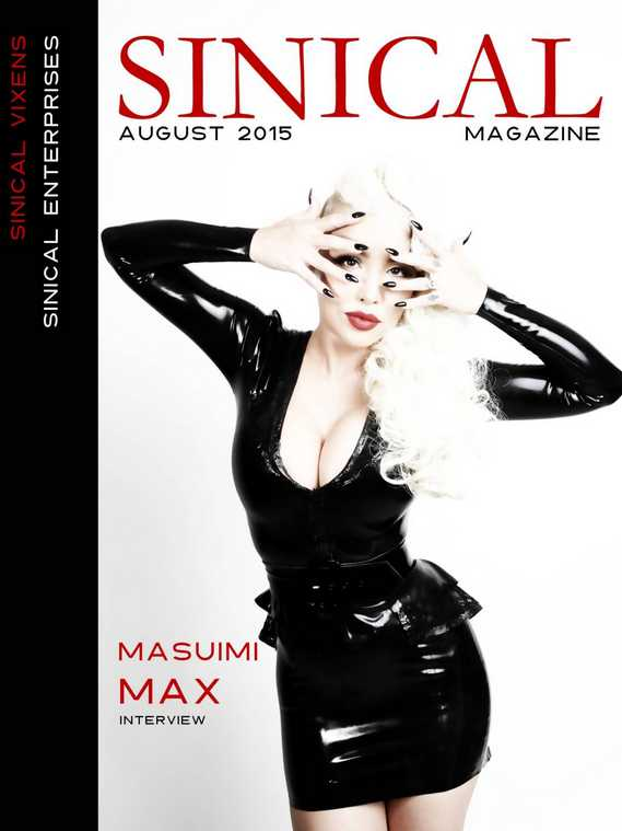 masuimi max sinical magazine cover vixens