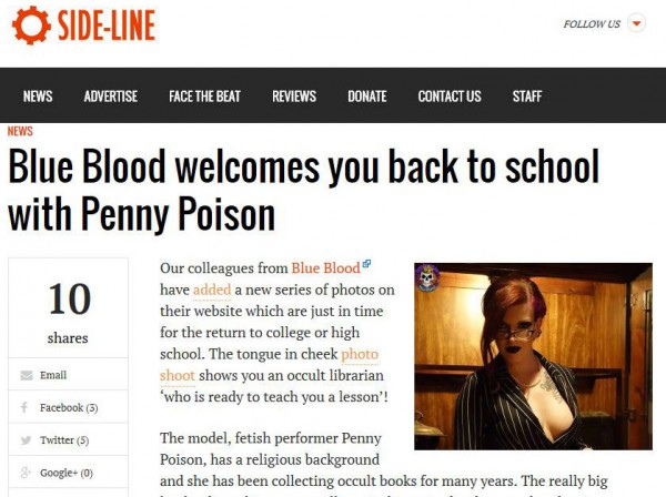 side-line penny poison