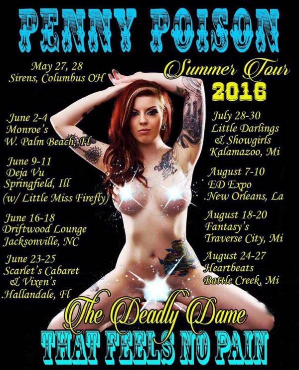 pennypoison summer tour