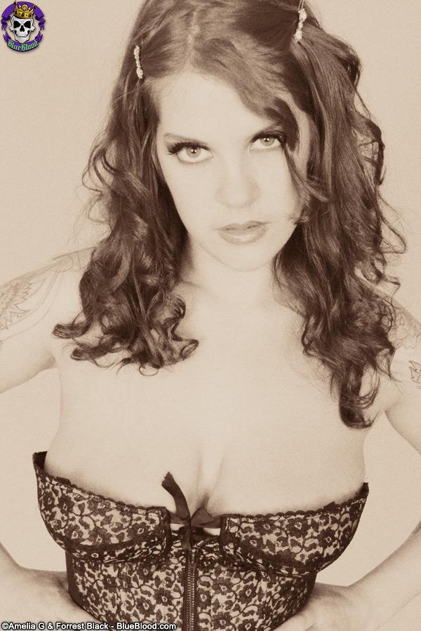 delilah lace corset