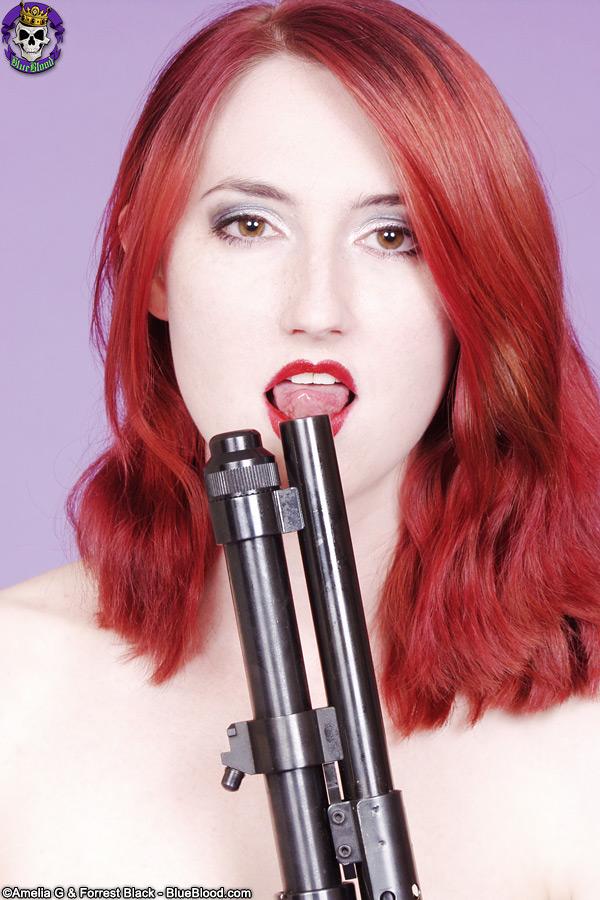 mistress kendra james pinstripes shotgun