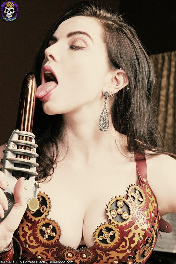 nicotine steampunk lady clankington