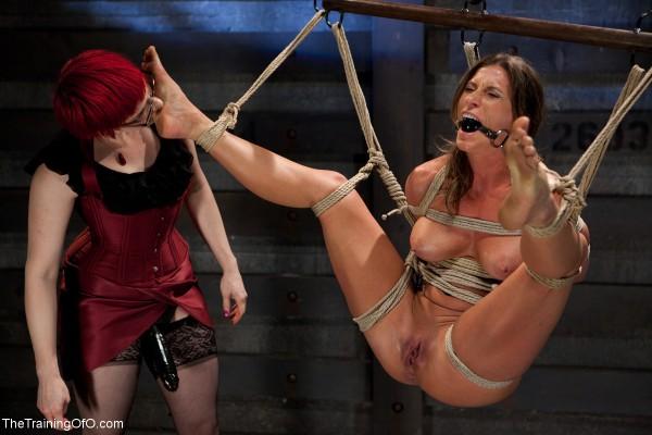 Katrina Jade Lesbian Bondage