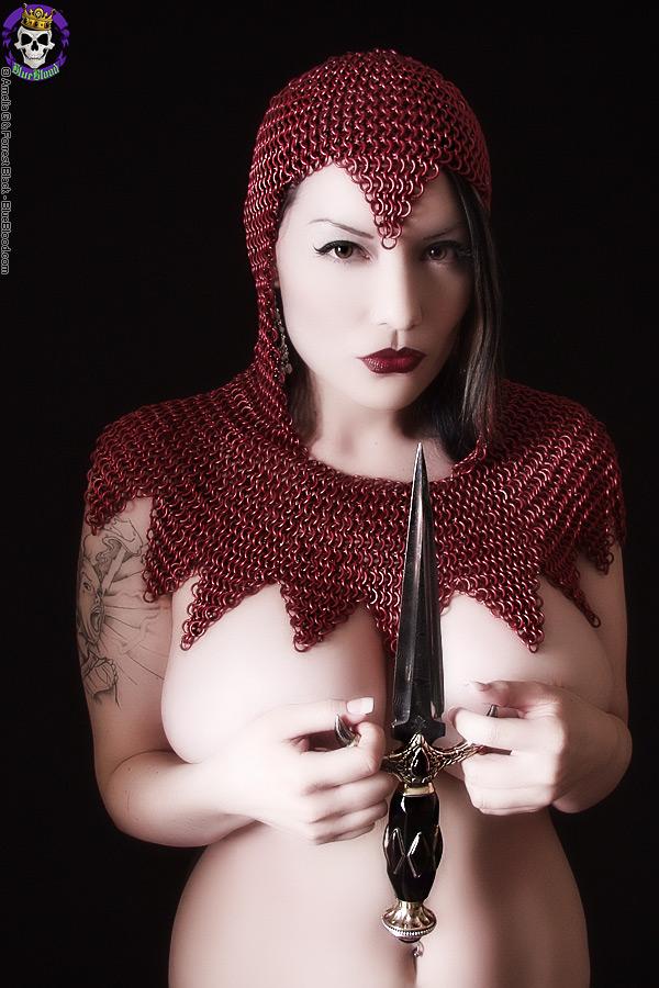 vamp dahlia dark knife armor
