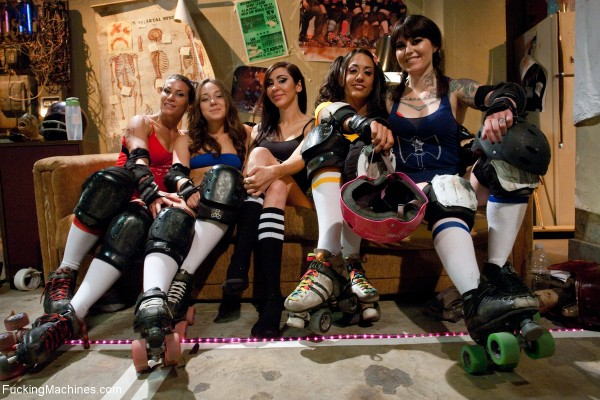 FuckingMachines Feature Movie Gold Star Roller Derby A FuckMANCE