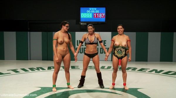 Welter Weight Interim Championship La Diabla vs The Tarrasque Izamar Gutierrez Penny Barber
