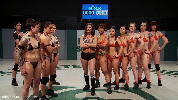 Royal Rumble Catfighting Women Wrestling Sex