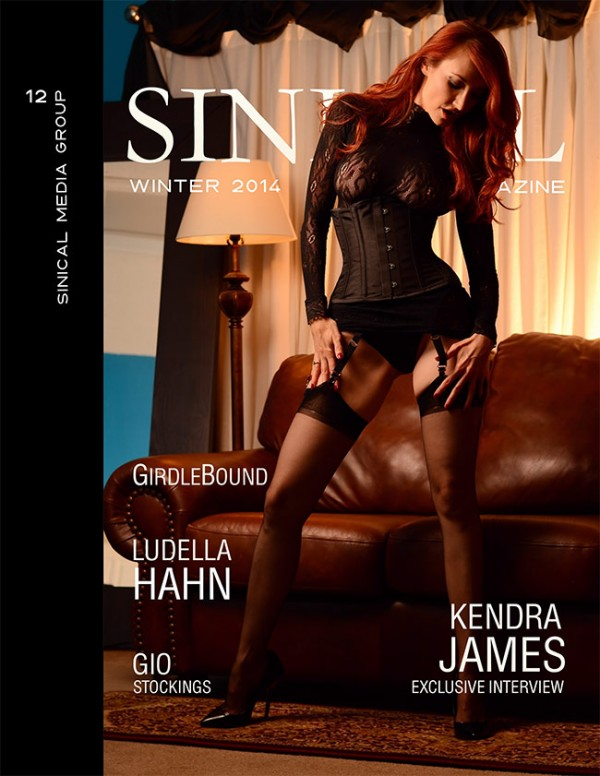 sinical magazine issue 12 kendra james cover