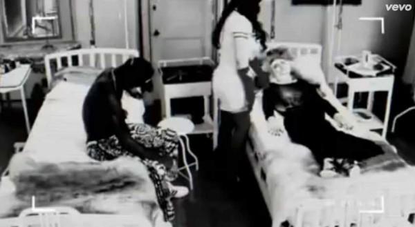 beyonce haunted dahlia dark latex nurse