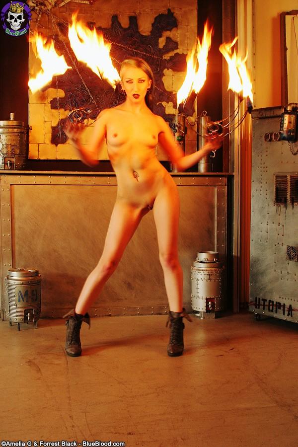 alecia joy fire fans darkness